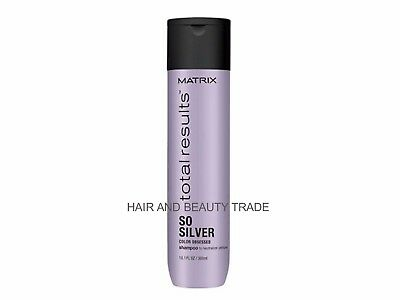 Matrix Total Results 300ml Color Obsessed So Silver Shampoo *FREE TRACKED POST*