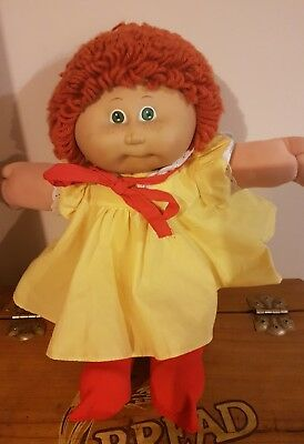 1982 Authentic Cabbage Patch Kids Red hair green eyes freckles