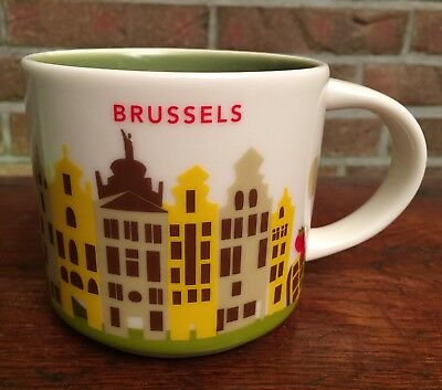 Starbucks You Are Here Collection Brussel Belgium New NEU mit SKU Nummer