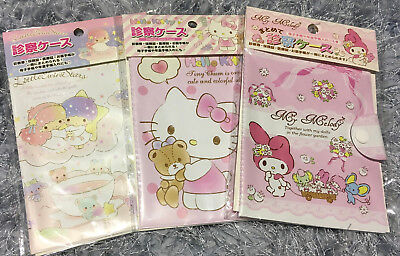 My Melody Little Twins Stars Files Book Receipt Name Business Cards Storage Cute