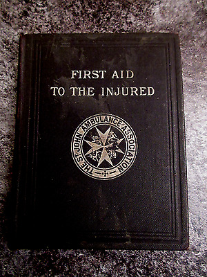 St John Ambulance First Aid to the injured Hardback 15th Edition (King George V)
