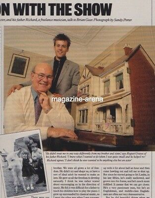 Rupert Graves And Father / Relative Values   /  Uk One Day Magazine