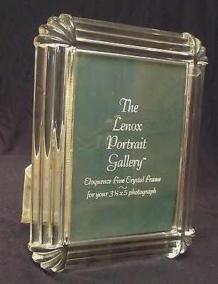 """Lenox Crystal Frame for 3.5"""" by 5"""" Photo"""