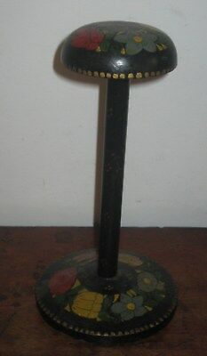 Old Painted Wooden Hat Stand Very Pretty