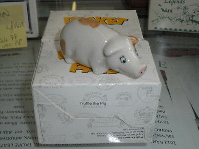 WADE COLLECTABLE Gold Crest BOXED,POCKET PALS TRUFFLE PIG,  Owned from new