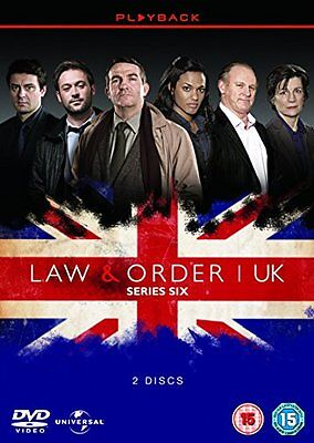 Law and Order UK: Series 6 [DVD][Region 2]