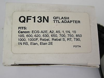 Quantum QF13N QFlash TTL Adapter for Canon