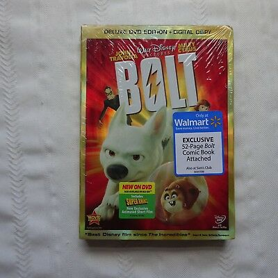 Bolt Dvd 2009 2 Disc Set With Disneyfile Factory Sealed W Comic Included 19 95 Picclick
