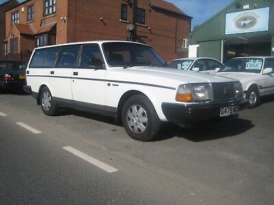 "Volvo 240Gl Estate Auto Only 1 Owner ""please Read, Unbelievable History"""