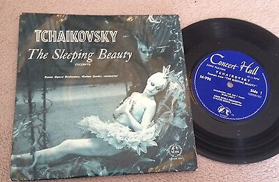 "7""  Tchaikovsky The Sleeping Beaty Excerps 1965."