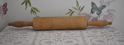 Vintage Wooden Rolling Pin  (ref125)