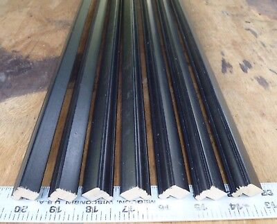 20.75 ft BLACK Picture Frame Molding