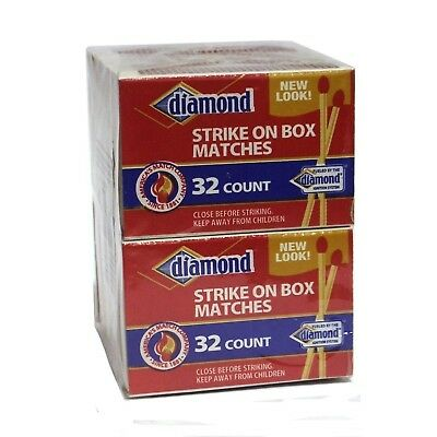 Matches 10 Pack - Diamond Strike on Box 32 Count NEW
