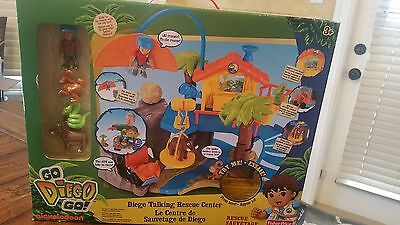 RARE New in Box Fisher Price Diego Talking Rescue Center w/Sounds