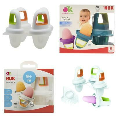 Annabel Karmel By Nuk Mini Ice Lolly Moulds