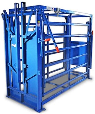 Priefert Cattle Cage CC1564 Work Chute