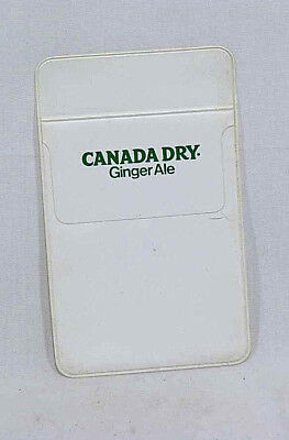 Vintage Canada Dry Logo Pocket Protector - From the 1980's - NOS