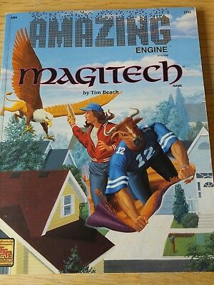 Magitech, Amazing engine system roleplay