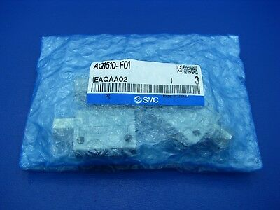 SMC AQ1510 Series Quick Exhaust Valves (Package of 3)  AQ1510-F01 NEW
