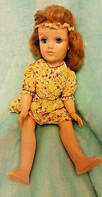 Harriet Hubbard Ayer 15 Inch Doll From 1950's Redressed.