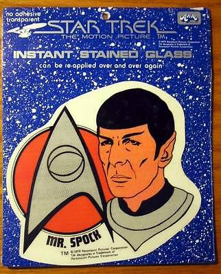Star Trek Collectable Mr. Spock Instant Stained Glass
