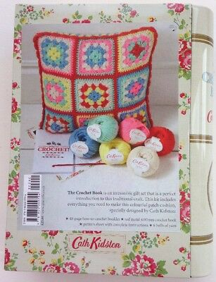 Cath Kidston The Crochet Book And Wool Set Bn