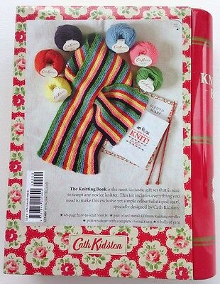 Cath Kidston The Knitting Book And Wool Set Bn