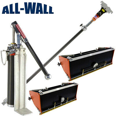 Drywall Master Pro Flat Box 10/12 Finish Set with 2 Boxes, Handle, Pump, Filler