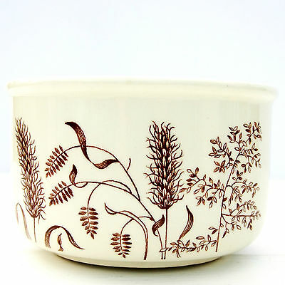 Vintage Retro 1970s JG Meakin Windswept Sugar Bowl