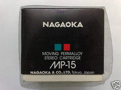 Nagaoka Mp-15 Stereo Cartridge Moving Permalloy (Nos)