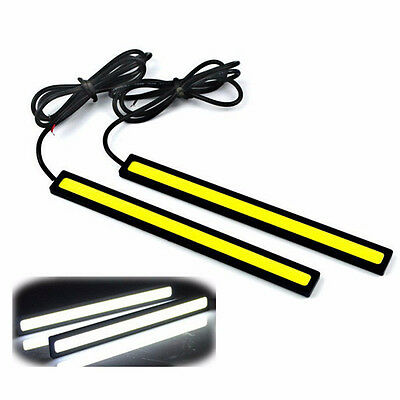 Car Styling 1 Pcs Ultra Bright LED Daytime Running lights 17cm Waterproof Auto