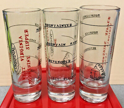 West Virginia Souvenir Shot Glass Moonshine Shooter