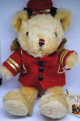 The TEDDY BEAR Collection No: 7 BARNEY THE BELL BOY with Jaunty Cap