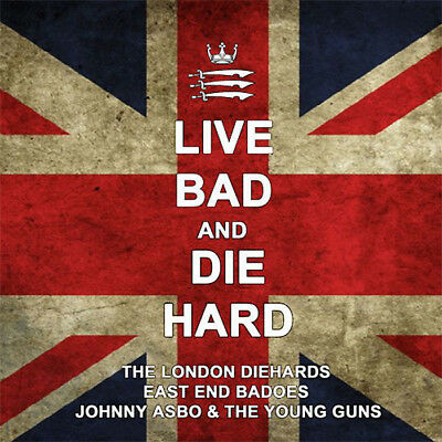 """Johnny Asbo&The Young Guns/East End Badoes/The London Diehards """"Live Bad..12"""" LP"""