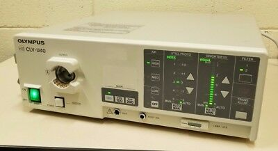 Olympus EVIS Model CLV-U40 Universal Light-Source Endoscopy