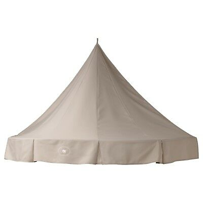 CHARMTROLL Bed Canopy, Beige color, Baby Cot Cover Tent-IKEA-Brand New