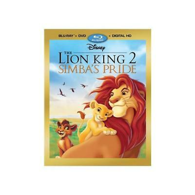 The Lion King 2 Simba's Pride (Blu-Ray + DVD + Digital) W/ Slipcover