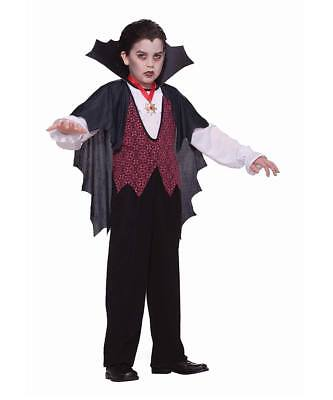 Trick or Treat party time as a Retro Vampire! Halloween costume for children!