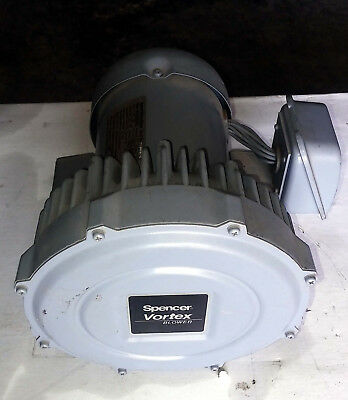 1 New Spencer Vb-002G-U Vortex Regenerative Blower ***Make Offer***
