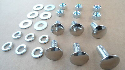 1960-70/'s FORD MUSTANG F100 TORINO GT ETC 5001HX 28 NOS OLD SCHOOL BARREL NUTS