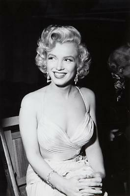 Marilyn Monroe Stretched Canvas Movie Poster Wall Art Print 60s Model Icon