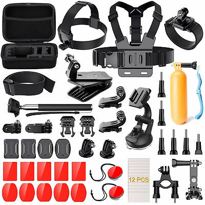 50 in 1 Accessories Kit for GoPro Hero 5 4 3 2 1 Action Camera Bundle Set SJCAM-