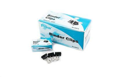 """72 Pcs 15mm 5/8"""" Binder Clips, small Size Full Metal Paper Binding Office 6 DOZ"""