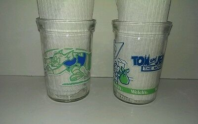 Tom and Jerry Welch's Jelly Jars 1991 & 1993