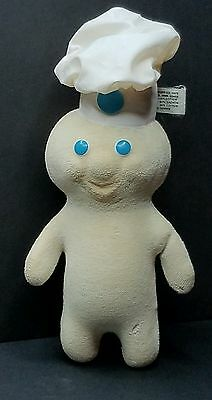"Rare PILLSBURY DOUGHBOY Terry Cloth Soft Squeezable 12"" Doll TRUE VINTAGE 1972"
