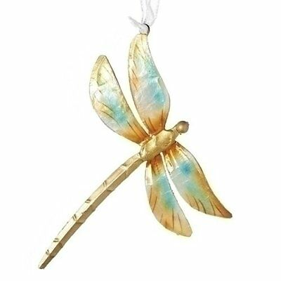 Roman 30770 Capiz Shell Dragonfly Hanging Ornament
