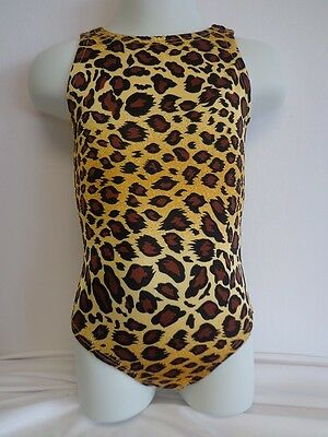 Toddler Leotard ~ Golden Leopard Print ~ Gymnastiics, Dance, Babies, Tots