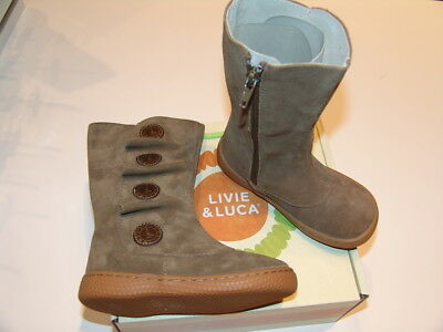 NEW Livie & Luca girl's fall/winter boots - TIEMPO Taupe - toddler sizes 6-13