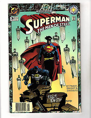 Superman: The Man of Steel Annual #3 (1994, DC) VF Elseworlds Mike Mignola Cover