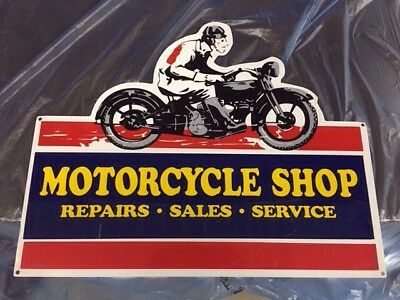 Motorcycle Shop Sign
